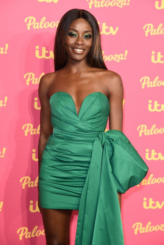 AJ ODUDU at ITV Palooza 2019 in London 11/12/2019