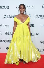 AJA NAOMI KING at 2019 Glamour Women of the Year Awards in New York 11/11/2019