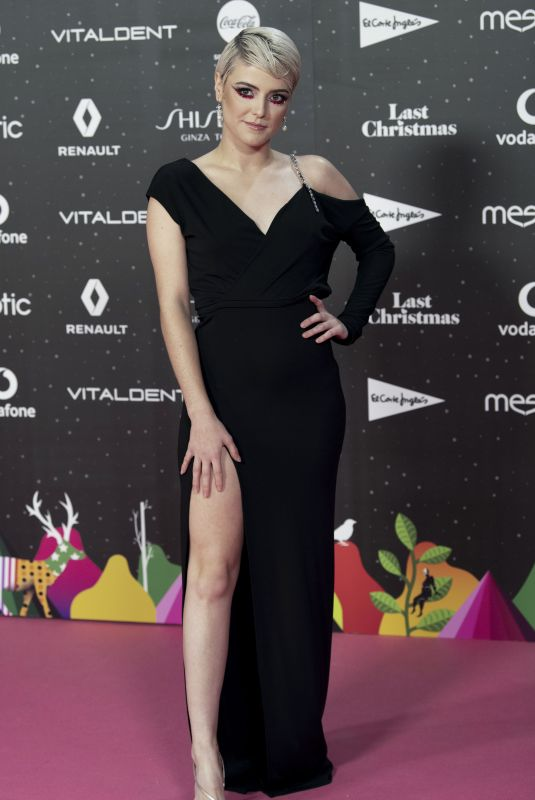 ALBA RECHE at Los40 Music Awards in Madrid 11/08/2019