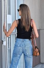 ALESSANDRA AMBROSIO at Application Support Center in Los Angeles 11/18/2019