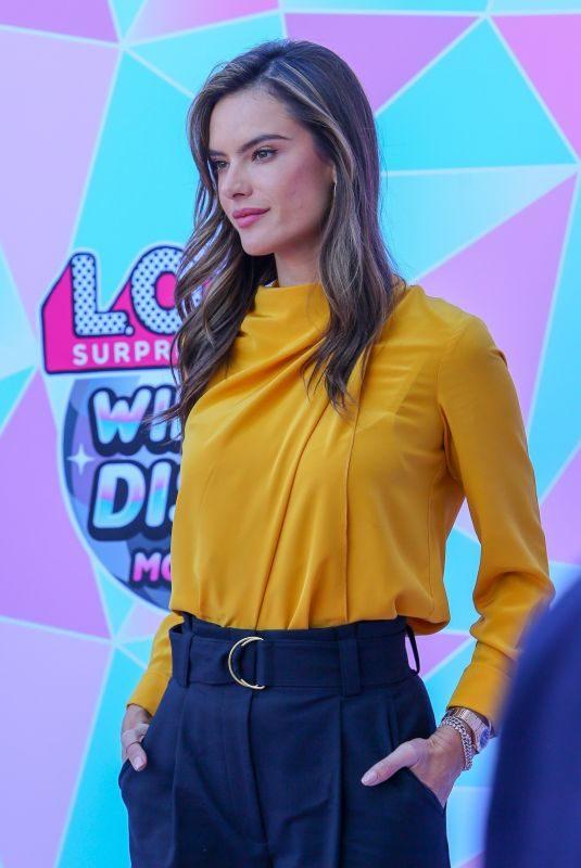 ALESSANDRA AMBROSIO at LOL Surprise! Winter Disco Movie in Century City 11/03/2019