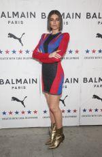 ALEX GHANTOUS at Puma x Balmain Launch Event in Los Angeles 11/21/2019