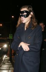 ALEXA CHUNG Leaves Laylow Halloween Party in London 10/31/2019