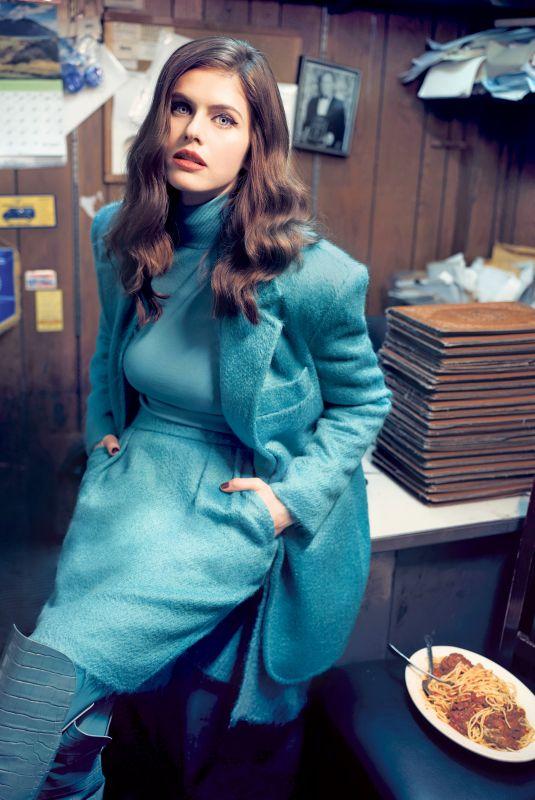 ALEXANDRA DADDARIO for New York Post, November 2019