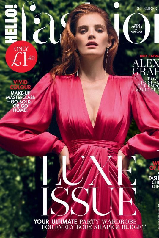 ALEXINA GRAHAM in Hello! Fashion Magazine, December 2019/January 2020