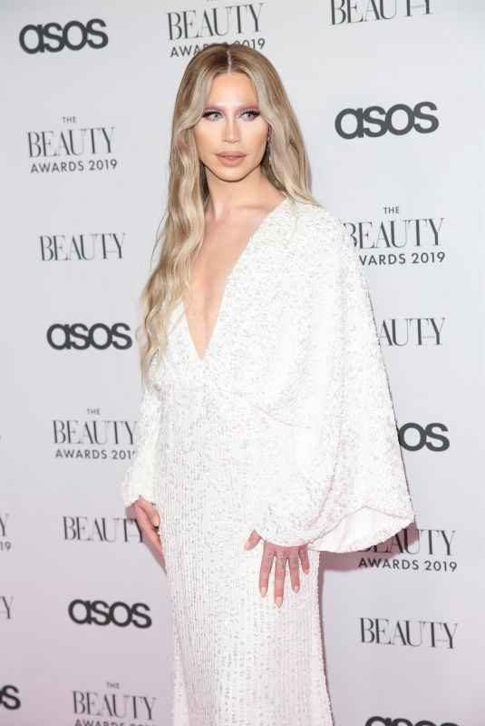 ALEXIS STONE at Beauty Awards 2019 with Asos City Central in London 11/25/2019