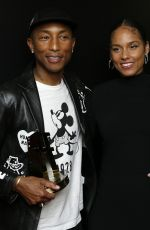 ALICIA KEYS and Pharrell Williams at Hollywood Film Awards in Beverly Hills 11/03/2019