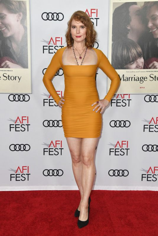 ALICIA WIRR at Marriage Story Screening at AFI Fest 2019 in Hollywood 11/21/2019