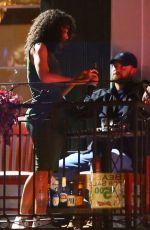 ALISHA WAINWRIGHT and Justin Timberlake Night Out in Los Angeles 11/21/2019