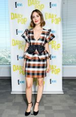 ALISON BRIE at Daily Pop, November 2019