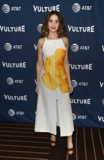ALISON BRIE at Vulture Festival in Los Angeles 11/10/2019