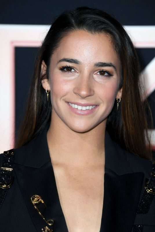 ALY RAISMAN at Charlie's Angels Premiere in Los Angeles 11/11/2019