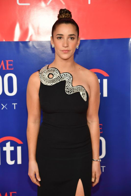 ALY RAISMAN at Time 100 Next 2019 at Pier 17 in New York 11/14/2019