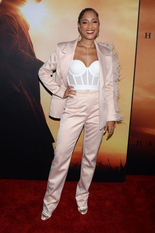 AMANDA SALES at Harriet Premiere in Los Angeles 10/29/2019