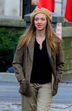AMANDA SEYFRIED on the Set of Things Heard and Seen in New York 11/25/2019