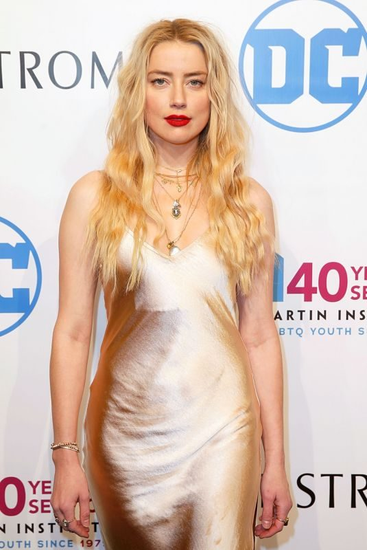 AMBER HEARD at Emery Awards in New York 11/06/2019