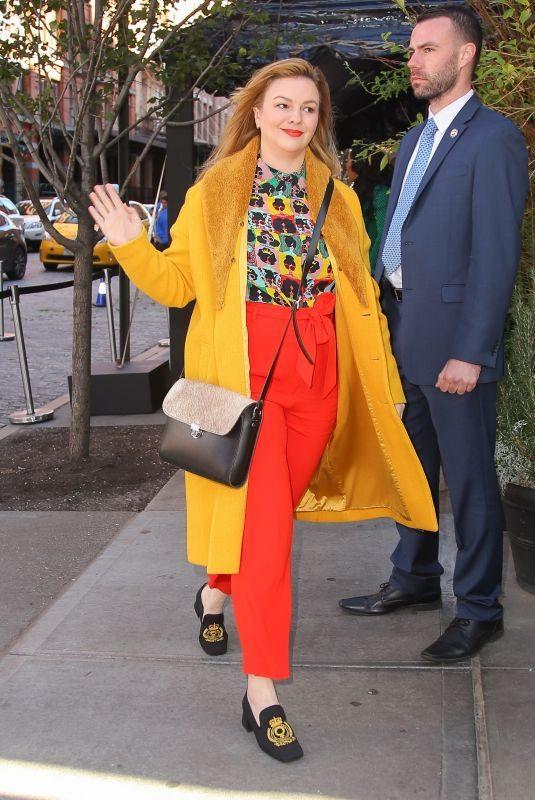 AMBER TAMBLYN Arrives at Tribeca Chanel Women's Filmmaker Program Luncheon 11/04/2019