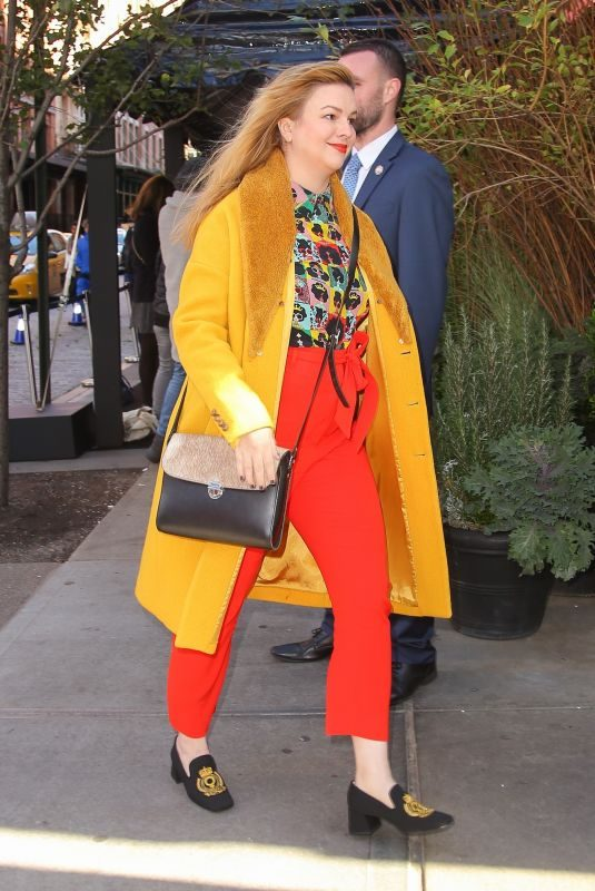 AMBER TAMBLYN Out and About in Los Angeles 11/04/2019