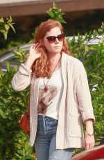 AMY ADAMS Out for Lunch at Ca Del Sole in Toluca Lake 11/15/2019