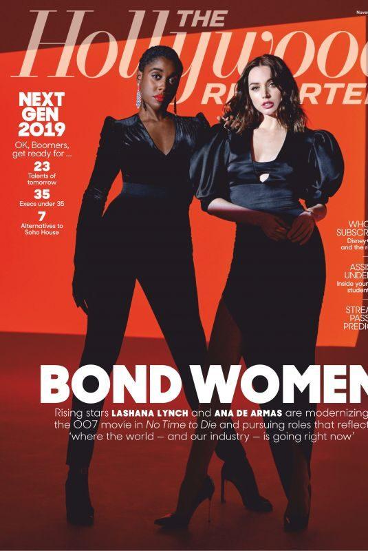 ANA DE ARMAS and LASHANA LYNCH in The Hollywood Reporter, November 2019