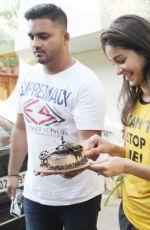ANANYA PANDAY Celebrates Birthday in Juhu 10/29/2019