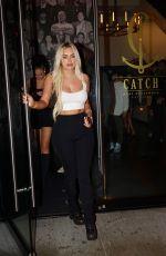 ANASTASIA KARANIKOLAOU at Catch LA in Los Angeles 11/15/2019