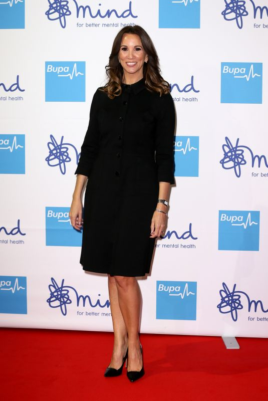 ANDREA MCLEAN at Bupa Mind Media Awards in London 11/13/2019