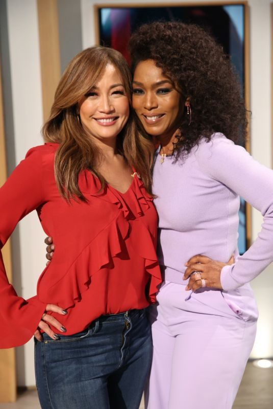 ANGELA BASSETT at The Talk 11/01/2019