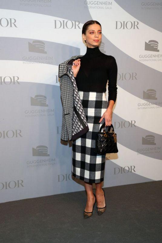 ANGELA SARAFYAN at Guggenheim International Gala in New York 11/13/2019