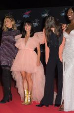 ANGELE at NRJ Music Awards 2019 in Cannes 11/09/2019