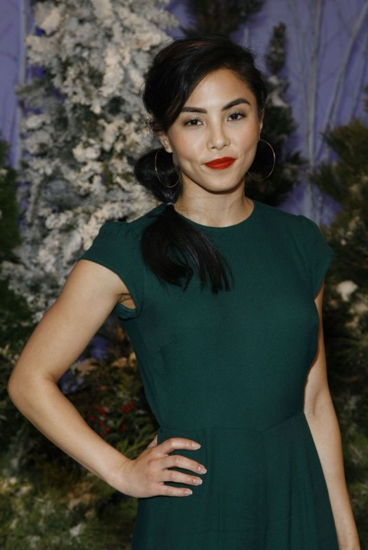 ANNA AKANA at Let It Snow Photocall in Beverly Hills 11/01/2019