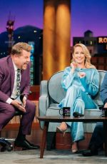 ANNA CAMP at Late Late Show with James Corden 11/19/2019