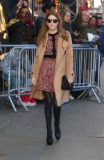 ANNA KENDRICK Arrives at Good Morning America in New York 11/11/2019