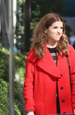 ANNA KENDRICK on the Set of Love Life in New York 11/01/2019
