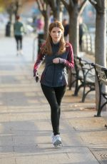 ANNA KENDRICK on the Set of Love Life in New York 11/05/2019