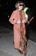 ANNA WINTOUR at Cfda & Vogue Fashion Fund Awards in New York 11/04/2019