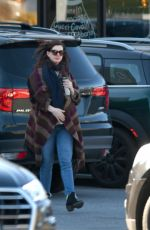 ANNE HATHAWAY Out and About in Connecticut 11/19/2019