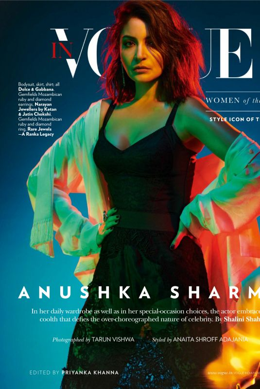 ANUSHA SHARMA in Vogue Magazine, India November 2019