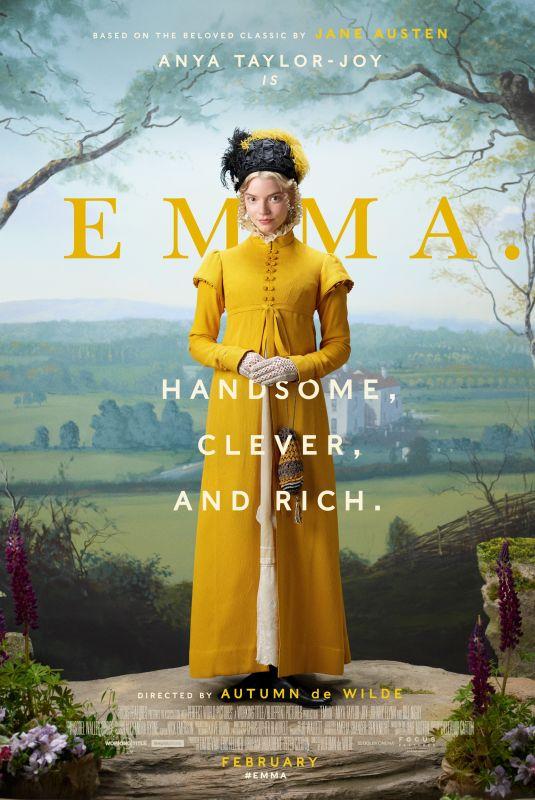 ANYA TAYLOR-JOY – Emma Promos and Trailer