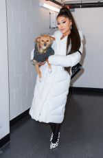 ARIANA GRANDE at Sweetener World Tour Backstage in Charlottesville 11/16/2019