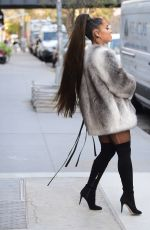 ARIANA GRANDE Out in New York 11/09/2019