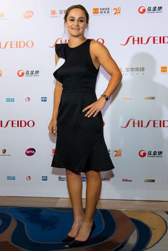 ASHLEIGH BARTY at WTA Finals Tennis Tournament Gala in Shenzhen 10/25/2019