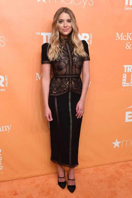 ASHLEY BENSON at 2019 Trevorlive Los Angeles Gala 11/17/2019