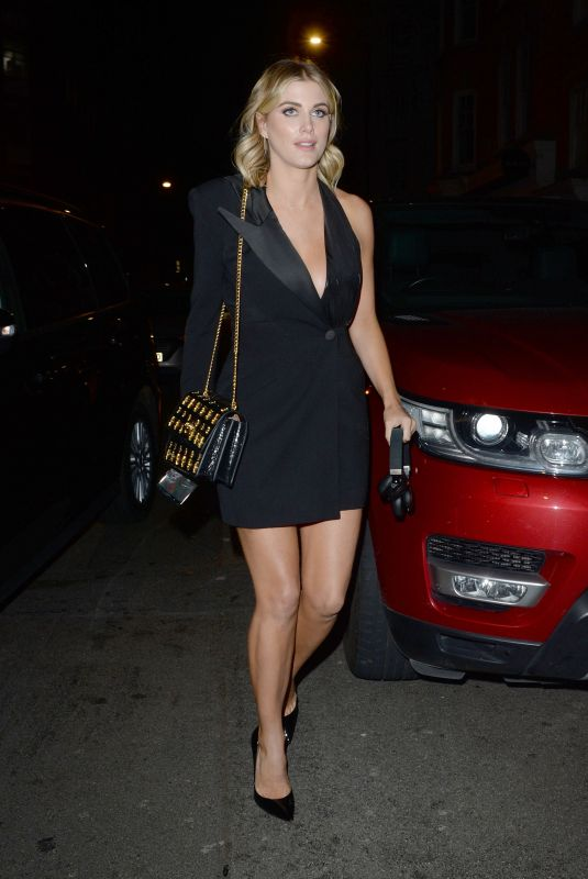 ASHLEY JAMES Arrives at Motorola Moto 360 Launch Party in London 10/29/2019