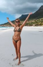 ASHLEY JAMES in Bikini at a Beach in South Africa - Instagram Photos 11/17/2019
