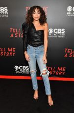 ASHLEY MADEKWE at Tell Me A Story, Season 2 Premiere in Nashville 11/20/2019