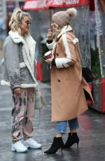 ASHLEY ROBERTS and ZOE HARDMAN Out in London 11/28/2019