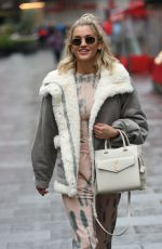 ASHLEY ROBERTS Heading to Pussycat Dolls Rehearsals in London 11/28/2019