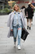 ASHLEY ROBERTS in Denims Out in London 11/19/2019