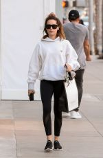 ASHLEY TISDALE Leaves Gucci Store in Beverly Hills 11/13/2019